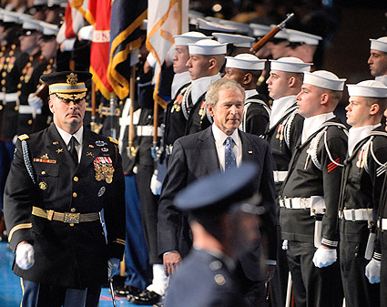 George W. Bush Armed Forces Farewell Photo Print