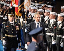 George W. Bush Armed Forces Farewell Photo Print for Sale