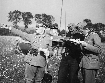 German General Erwin Rommel WWII Photo Print