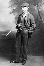 Golfer John Henry Taylor British Open Golf Photo Print for Sale