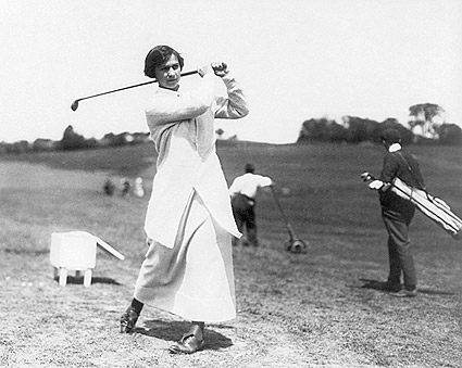Golfer Marion Hollins Golf Swing Photo Print