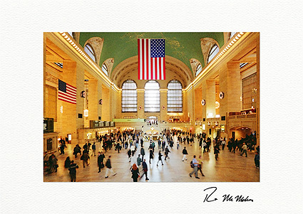 Grand Central Station Holiday Wreaths Individual Greeting Cards