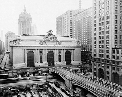 Grand Central Station New York City 1940s Photo Print