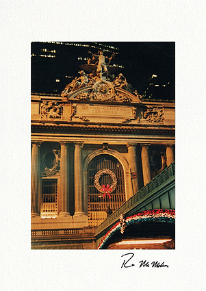 Grand Central Station New York City Boxed Christmas Cards