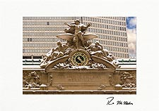 Grand Central Station Winter Personalized Christmas Cards