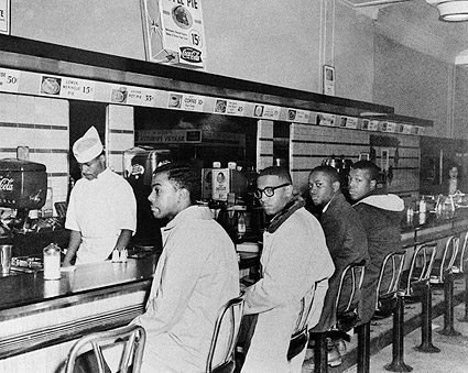 Greensboro Lunch Counter Sit-In at Woolworth's Photo Print