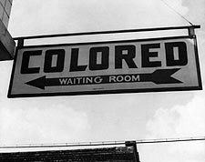 Greyhound Bus Sign Segregation Civil Rights Photo Print for Sale
