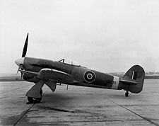 Hawker Typhoon British WWII Aircraft Photo Print for Sale
