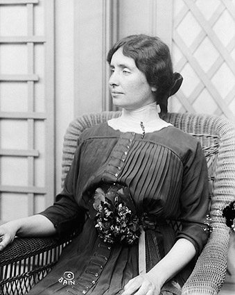 Helen Keller Seated Portrait Photo Print