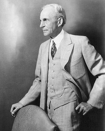 Henry Ford 3/4 Length Portrait Photo Print