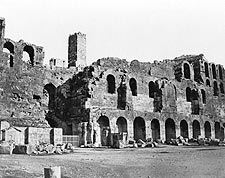 Herodes Atticus Odeon Acropolis Hill Photo Print for Sale