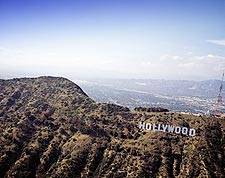 Hollywood Sign Overlooking Los Angeles, CA Photo Print for Sale