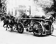 Horse Drawn Antique Fire Engine Wash., DC Photo Print for Sale