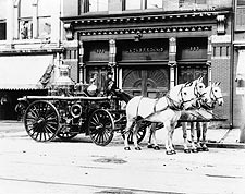 Horse Drawn Antique Fire Engine York, PA  Photo Print for Sale