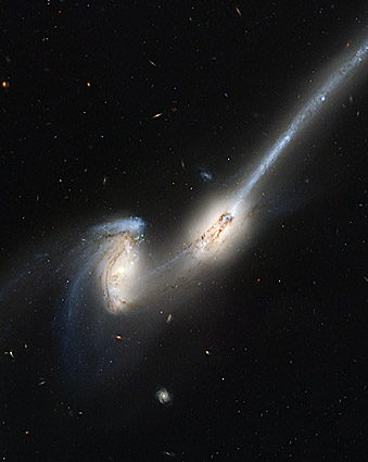 Hubble Astronomy Telescope Mice Galaxies Photo Print