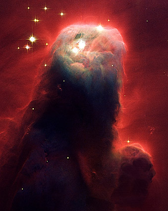Hubble Space Telescope Cone Nebula Photo Print