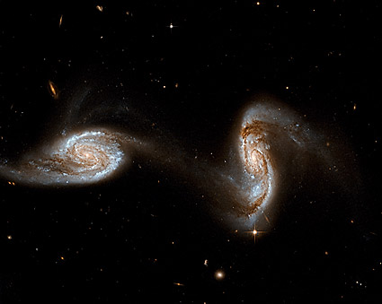 Hubble Space Telescope Interacting Galaxies  Photo Print