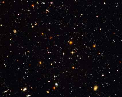 Hubble Ultra Deep Field Galaxies Hubble Space Telescope Photo Print