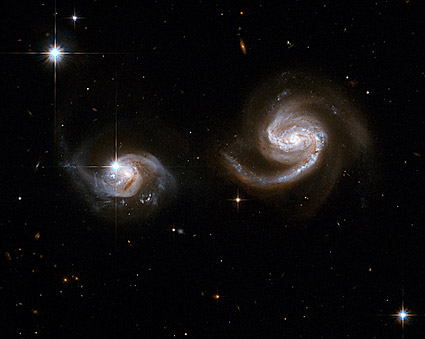 Interacting Galaxies Hubble Space Telescope Photo Print