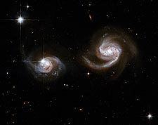Interacting Galaxies Hubble Space Telescope Photo Print for Sale