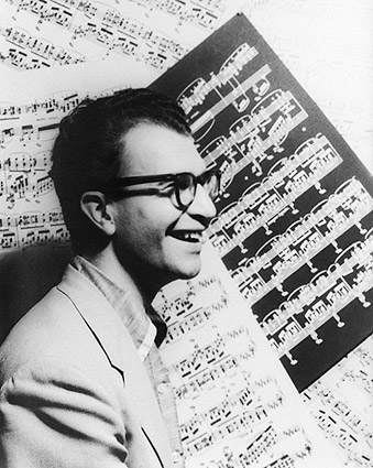 Jazz Musician Dave Brubeck Portrait 1954 Photo Print