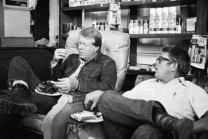 Jimmy Carter and Billy Carter Candid 1976 Photo Print