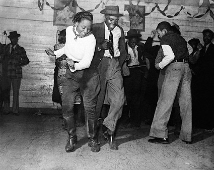 Jitterbug Negro Juke Joint Mississippi 1939 Photo Print