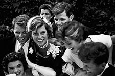 John & Jackie Kennedy Wedding Party 1953 Photo Print for Sale