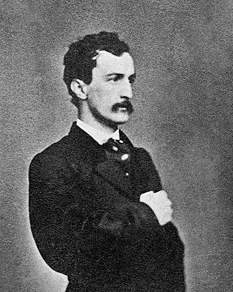 John Wilkes Booth Assassin of Abraham Lincoln Photo Print