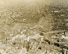 July Column and Place de la Bastille in Paris 1915 Photo Print for Sale