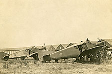 Junkers-Larsen JL-6 Aircraft on Ramp WWI  Photo Print for Sale