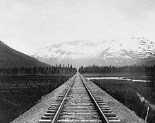 Kenai Peninsula Railroad Alaska Early 1900s Photo Print for Sale