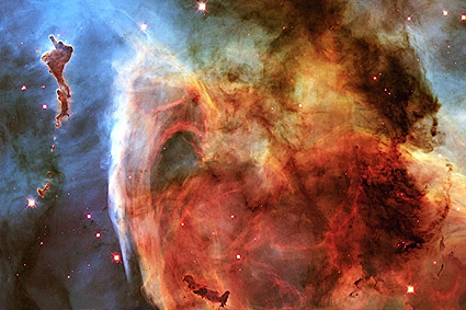 Keyhole Nebula Hubble Space Telescope Photo Print