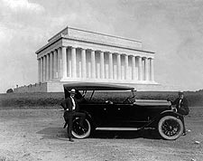 King Car & Lincoln Memorial Washington D.C. Photo Print for Sale