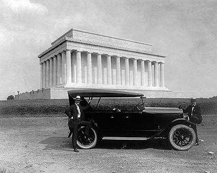 King Car & Lincoln Memorial Washington D.C. Photo Print