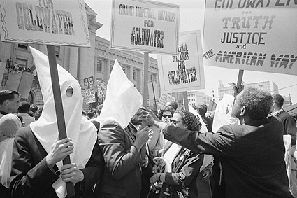 KKK & African Americans Goldwater Campaign Photo Print