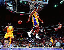 Kobe Bryant and Shaquille O'Neal 2001 NBA Finals Photo Print For Sale