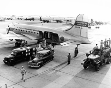 Korean War Medical Aircraft C-54 Skymaster at Bolling AFB Photo Print