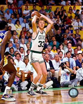 Larry Bird Boston Celtics Basketball Photo Print