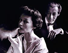 Lilli Palmer Smoking & Rex Harrison 1950 Photo Print for Sale