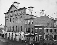 Lincoln Fords Theater Washington D.C. 1861 Photo Print for Sale