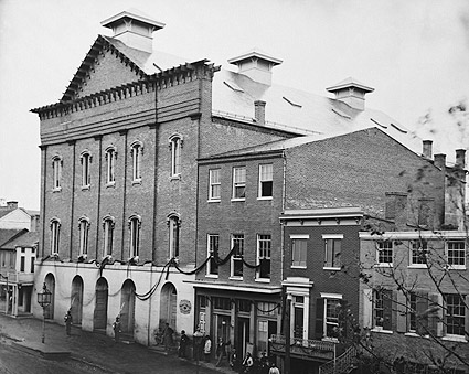 Lincoln Fords Theater Washington D.C. 1861 Photo Print