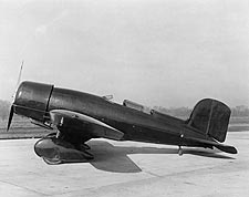 Lockheed Model 8 Sirius Aircraft Side View Photo Print for Sale