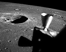 Lunar Surface Crater Maskelyne Apollo 10 Photo Print for Sale