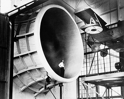 M-1 Sperry Messenger in NACA Propeller Research Tunnel Photo Print