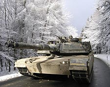 M-1A Abrams Tank Taunus Mountains, Germany Photo Print for Sale