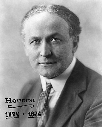Magician Harry Houdini Portrait 1925 Photo Print