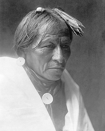 Man of Taos Edward S. Curtis Portrait 1905 Photo Print