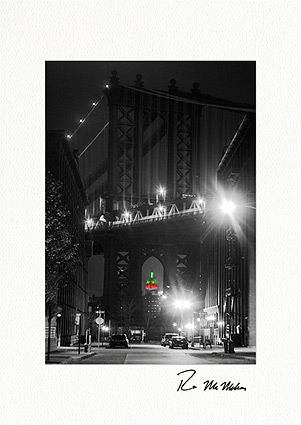 Manhattan Bridge Empire State Building Boxed Christmas Cards