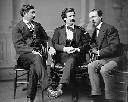 Mark Twain, Townsend & Gray Brady Portrait Photo Print